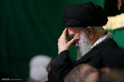مراسم العزاء الفاطمية بحضور قائد الثورة الاسلامية