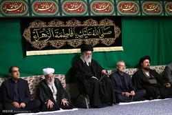 دومین شب عزاداری فاطمیه ۱۴۳۸ در حسینیه امام خمینی
