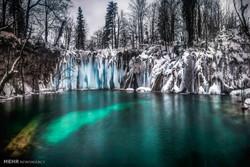 دریاچه های پیتویس کرواسی در فصل زمستان