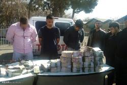 دستگیری سارقان خودروی حمل پول بانک پاسارگاد