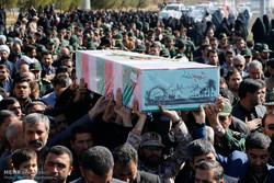 پیکر شهید گمنام در فیروزآباد تشییع شد