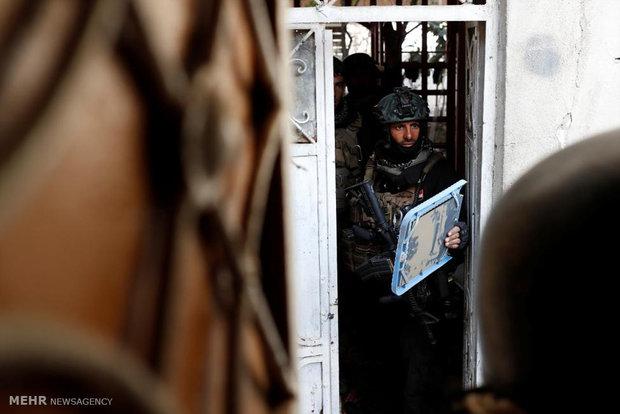 جنگ در خیابان های موصل