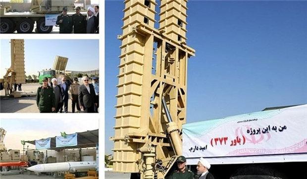 """اجراء اختبارات لمنظومة الدفاع الجوي """"باور 373"""" الايرانية الصنع"""