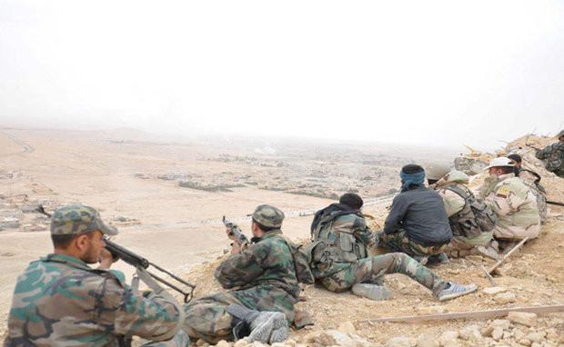 """الجيش السوري يسيطر على """"مثلث تدمر"""" الاستراتيجي"""
