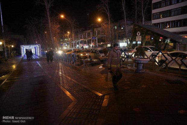 مهار آتش سوزی تئاتر شهر