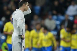 دیدار تیم های فوتبال رئال مادرید و لاس پالماس