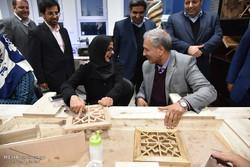 بهره برداری از مرکزآموزش فنی و حرفه ای معلولان مشهد