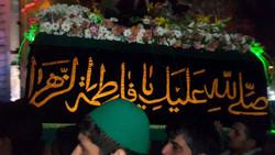تشییع نمادین حضرت زهرا ورامین
