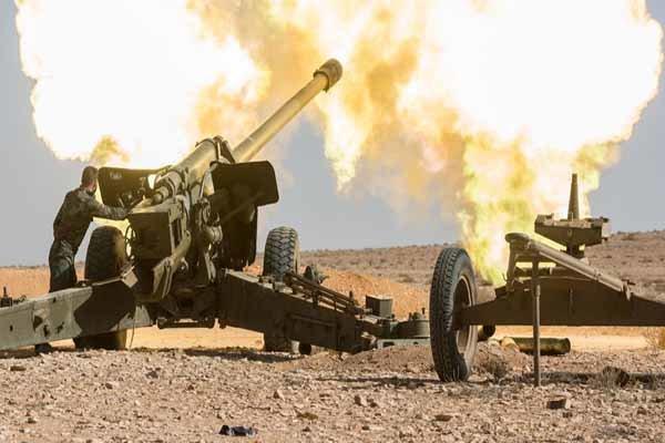 الجيش السوري يدخل مدينة حلفايا