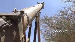 """صاروخ """"اورغان"""" يستهدف مرتزقة العدوان السعودي الامريكي"""