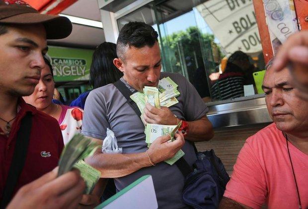 الاحتياط المالي الفنزویلي ينخفض الى ما دون ال 11 مليار دولار