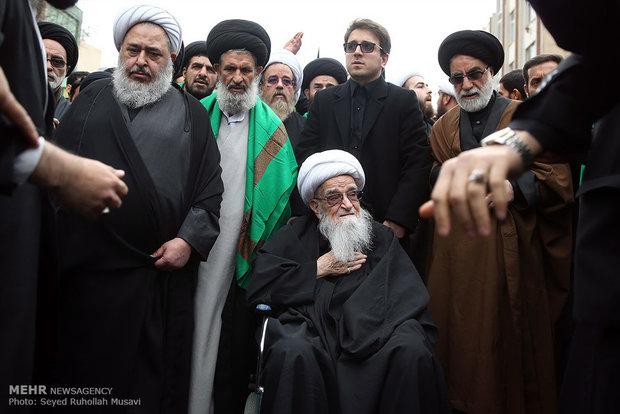 Fatemieh mourning held in Qom