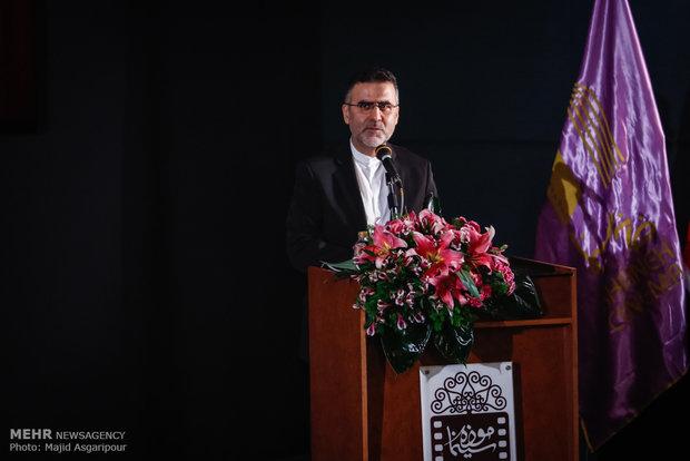 سخنرانی حجت الله ایوبی در مراسم تجلیل از اصغر فرهادی