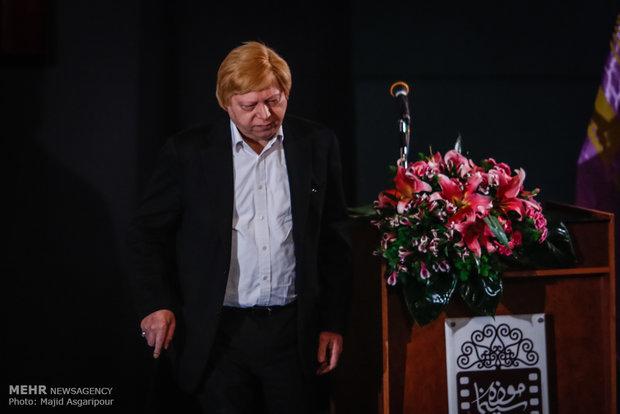 سید محمد بهشتی در مراسم تجلیل از اصغر فرهادی