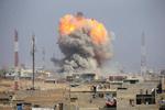 فلم/ موصل میں عراق کے جنگی طیاروں کی بمباری