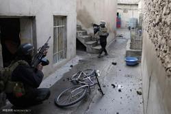 Musul'un batısında 10 mahalle kurtarıldı