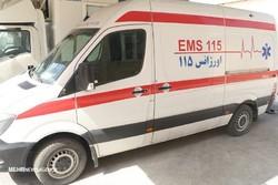 واژگونی خودرو پلیس در اسلامشهر/ ۲ نفر مصدوم شدند