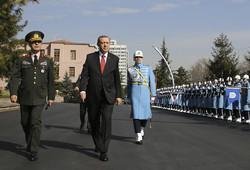 PresidentRecep Tayyip ErdoganandChief of Staff Gen.Hulusi Akar