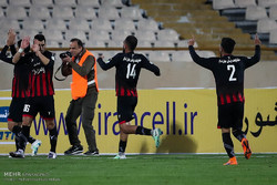 دیدار تیم های استقلال تهران و سیاه جامگان مشهد