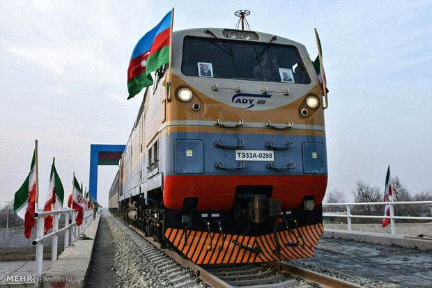 راه اندازی آزمایشی قطار حوزه مرزی آستارای ایران