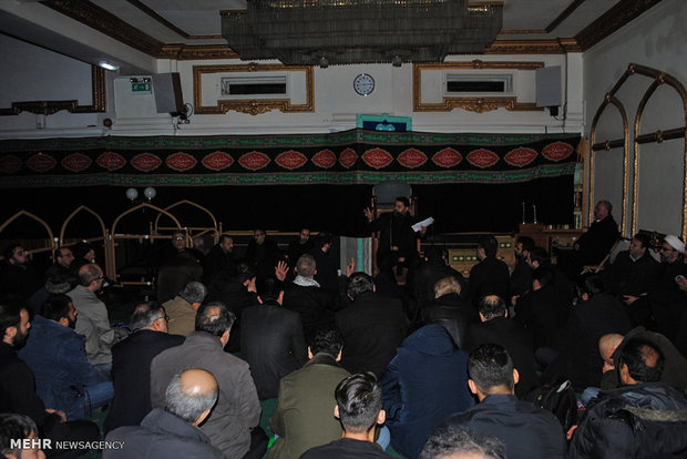 ICE holds Fatemieh mourning ceremony
