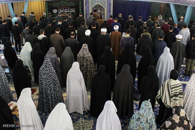 مراسم سوگواری ایام فاطمیه در مرکز اسلامی هامبورگ