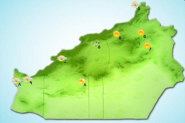 آسمان استان سمنان نیمه ابری است/ احتمال بارش تا جمعه