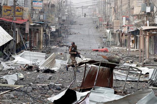 حرب الشوارع في الجانب الايمن من الموصل