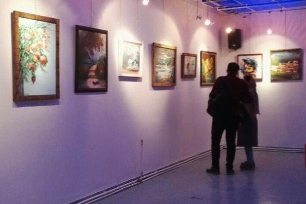 نمایشگاه نقاشی اداره فرهنگ و ارشاد شاهرود - کراپشده