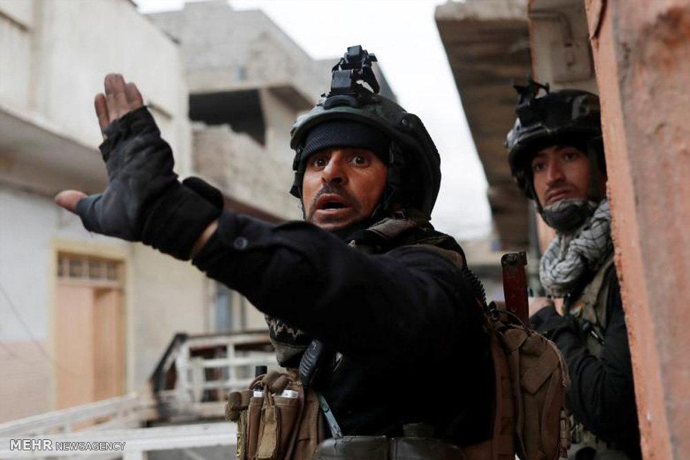 درگیری تن به تن و خیابانی در موصل