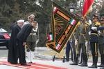 İlham Aliyev Tahran'da resmi törenle karşılandı