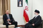 İlham Aliyev'in İnkılap Rehberi'yle görüşmesi