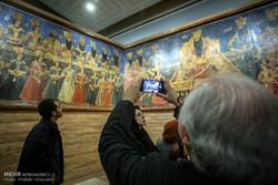Qajar era wall art unveiled