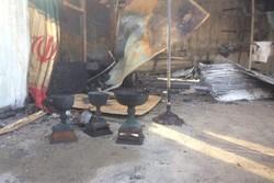 تمام دارایی قایقرانی بوشهر سوخت/ آتش سوزی عمدی بوده است