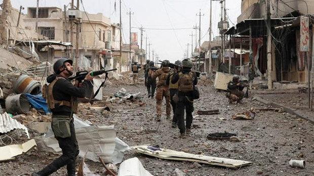 القوات الامنية العراقية  تعلن تحرير حي الصمود في ايمن الموصل