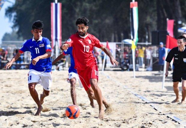 پیروزی تیم ملی فوتبال ساحلی ایران مقابل پاراگوئه