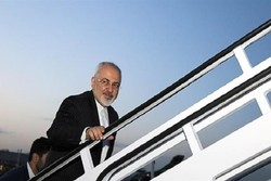 Zarif leaves S Africa for Uganda