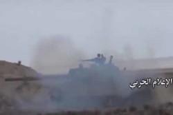 فیلم/تعقیب داعشی ها از سوی ارتش سوریه