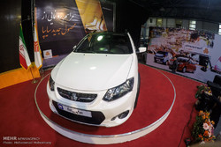 Saipa auto manufacturer unveils new car