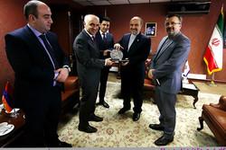 دیدار سلطانی فر با سفیر ارمنستان