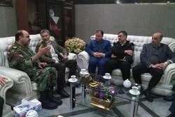 فرمانده نیروی دریایی ارتش وارد فرودگاه گرگان شد