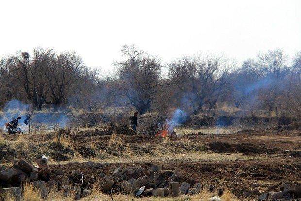 تخریب باغستان قزوین