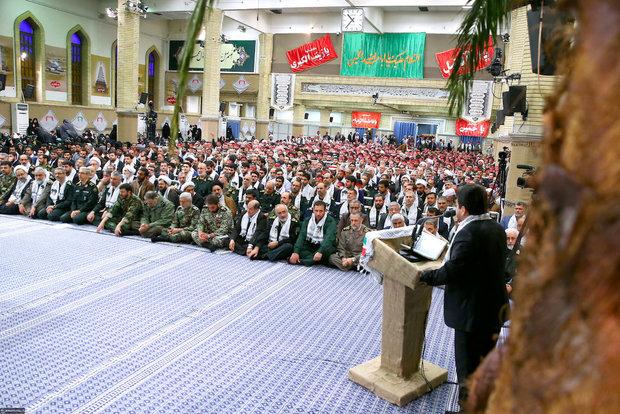 Officials of Rahian-e-Nour pilgrimage met with Leader