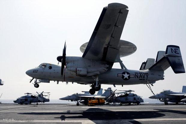 تحطم طائرة للبحرية الأميركية على متنها 11 شخصا