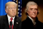 How much Trump's presidency resembles Jefferson's rule?