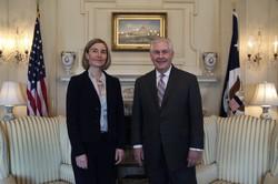 Mogherini-Tillerson