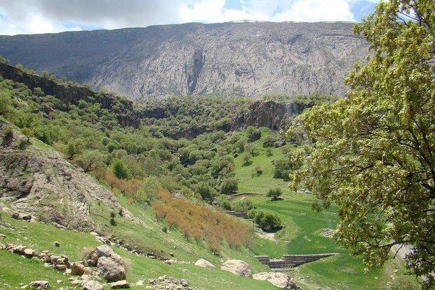 تنگه کافرین؛ منطقه توریستی تفریحی در شهرستان بدره