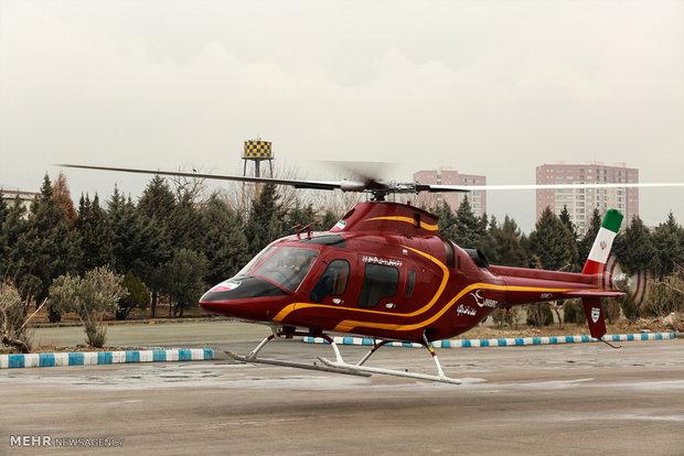 """İran yapımı """"Saba-248"""" helikopteri"""
