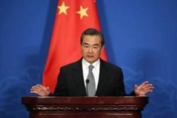 وزير الخارجية الصيني يشجب بشدة الاعتداءات الارهابية في طهران