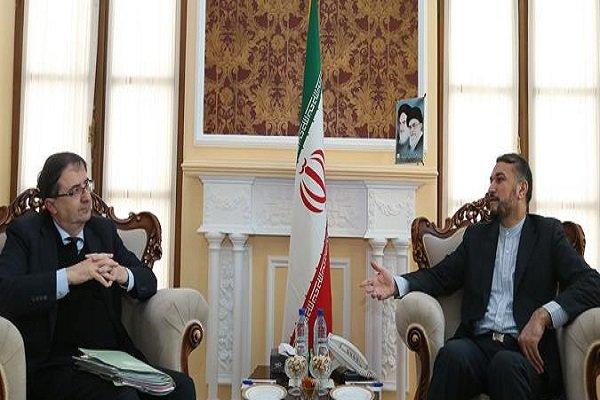 امير عبد اللهيان: مزاعم ارسال الاسلحة من ايران إلى اليمن باطلة لا صحة لها